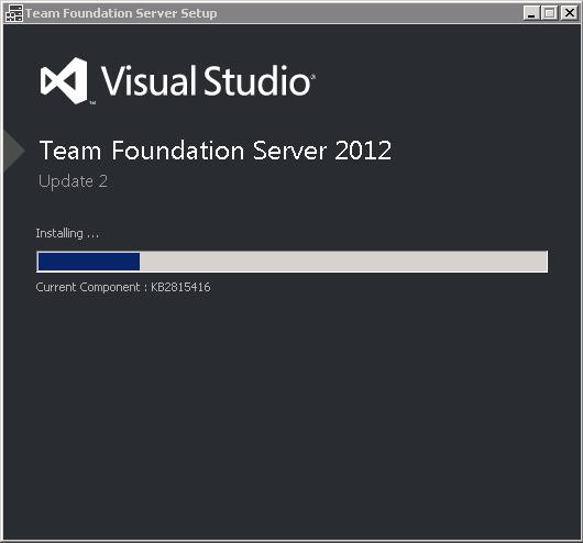 TFS 2012.2 Installing